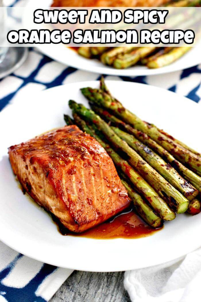 sweet and spicy orange salmon recipe