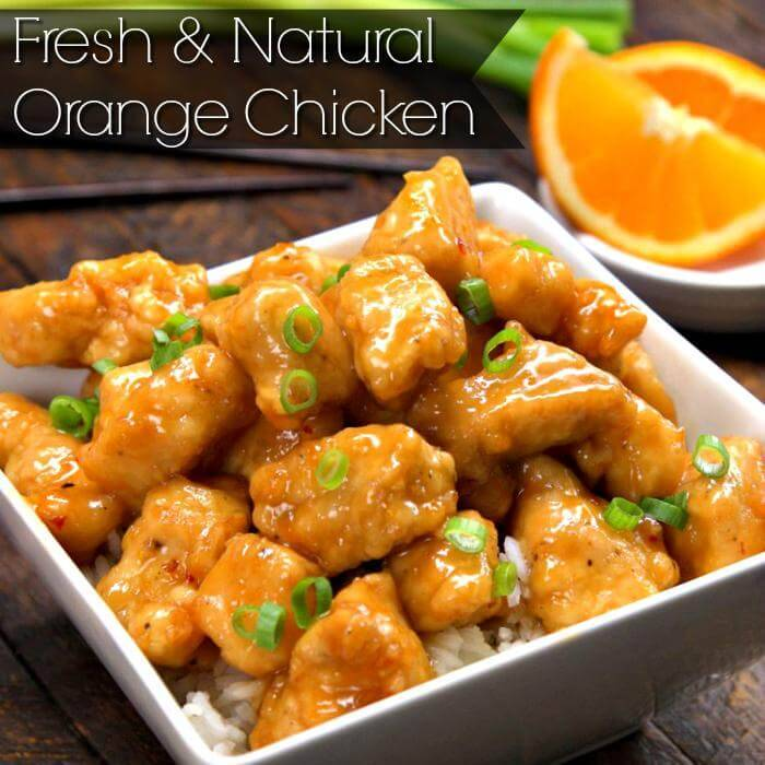easy orange chicken recipes
