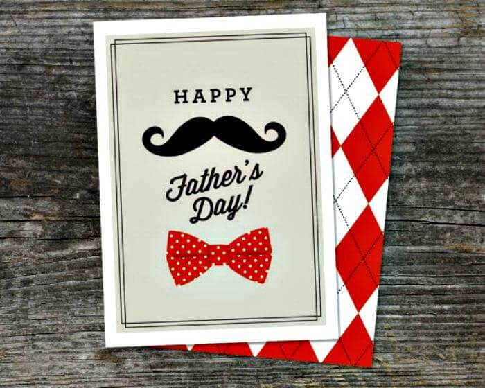 Father's Day Gift Card DIY Project