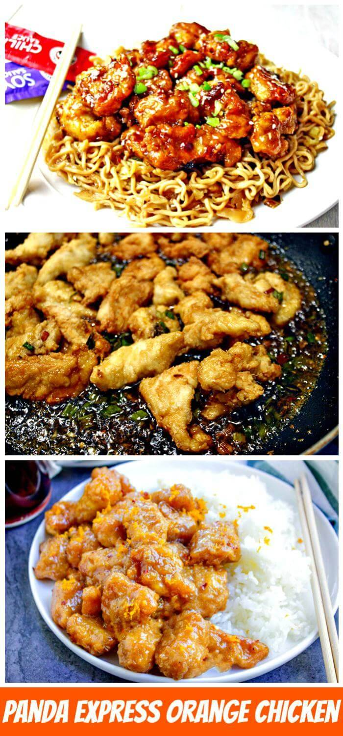 DIY panda express orange chicken copycat