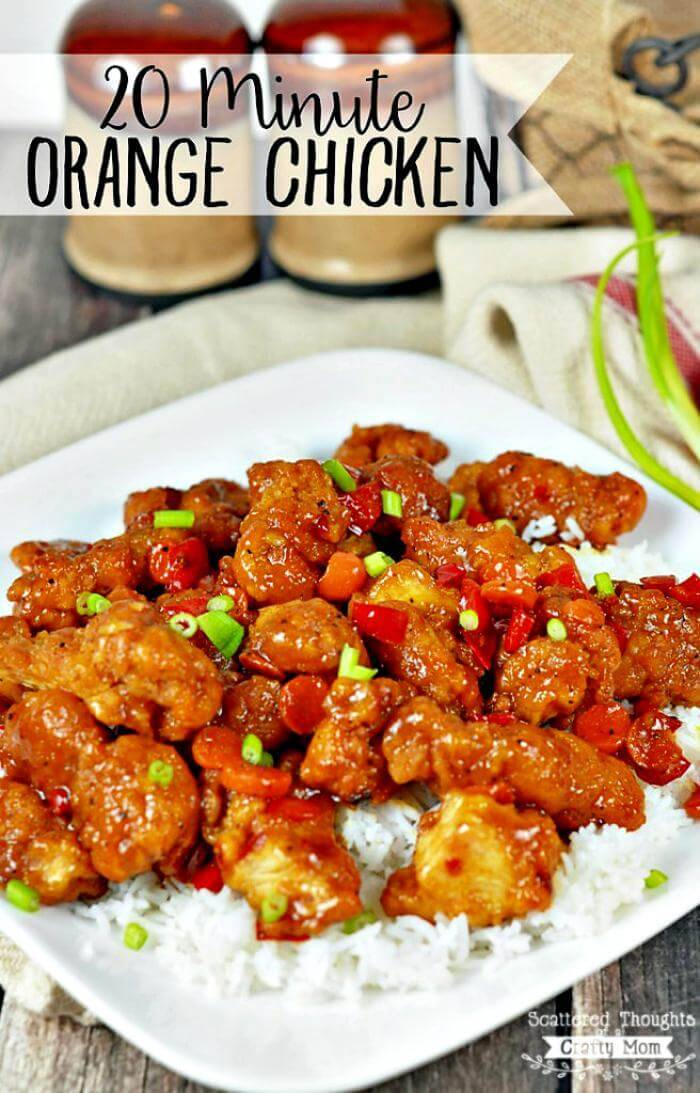 quick orange chicken recipe