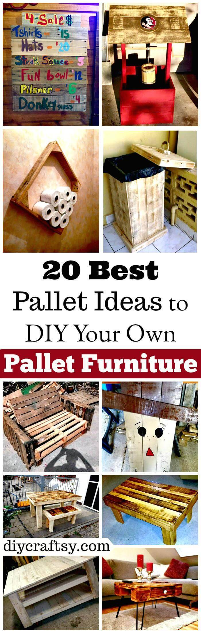 20 Best Pallet Ideas To DIY Your Own Furniture