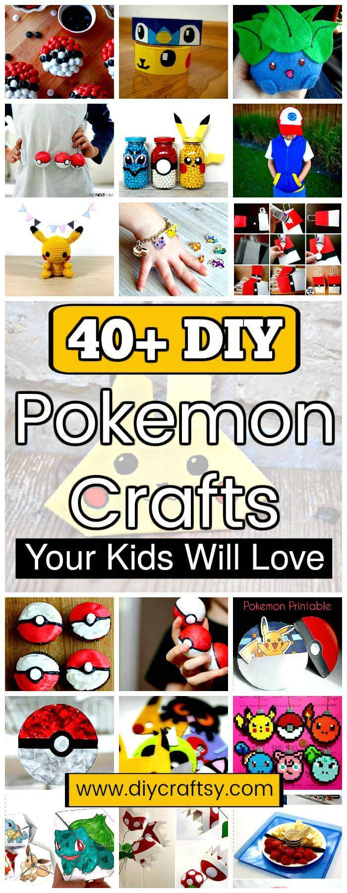 DIY Pokemon Crafts