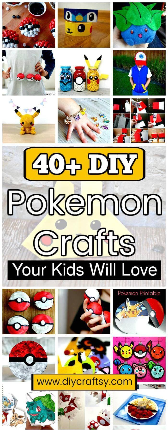 DIY Pokemon Crafts