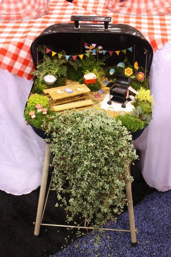 Barbecue Thyme Fairy Garden