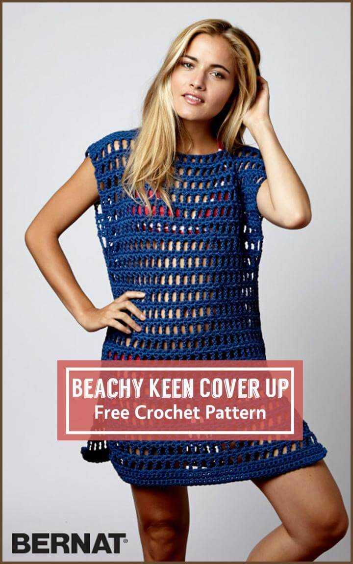 Beachy Keen Cover Up Free Crochet Pattern