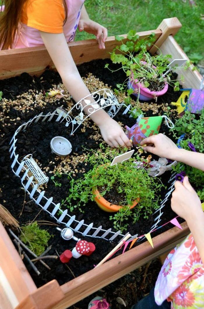 Build a Fairy Garden Table