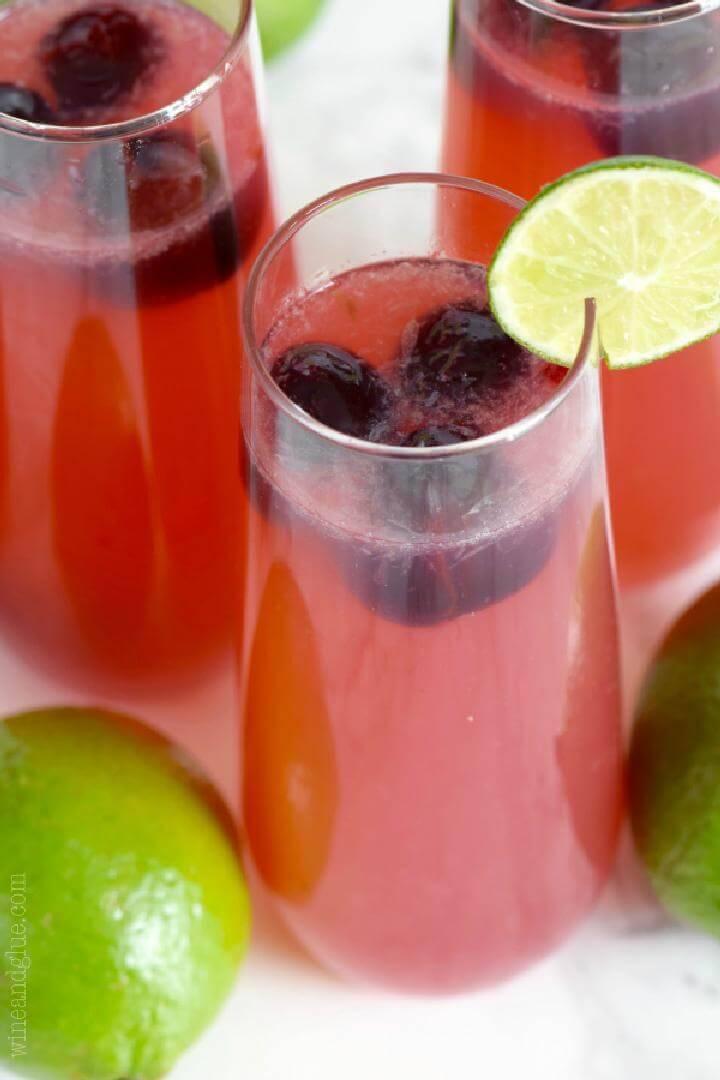 Cherry Limeade Sangria Free Recipe