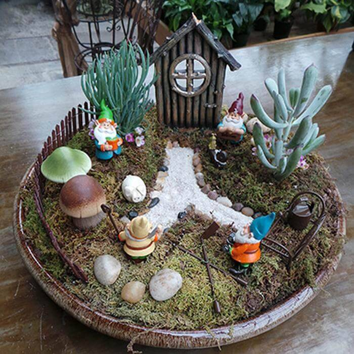 Create a Miniature Fairy Garden