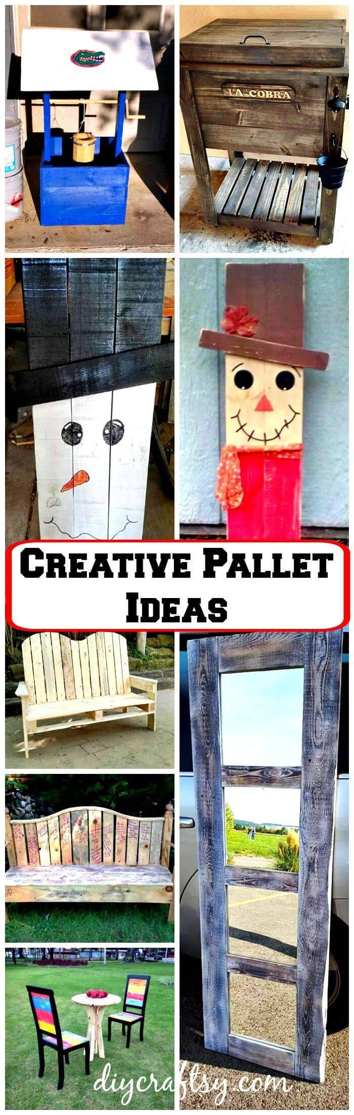 20 Creative Pallet Ideas To Decorate Your Home
