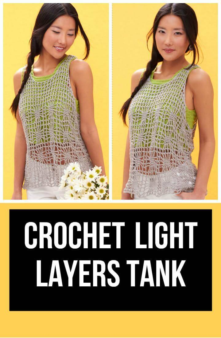 Crochet Light Layers Tank