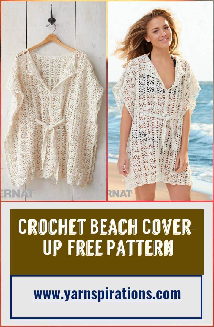 Crochet Beach Cover-Up Free Pattern