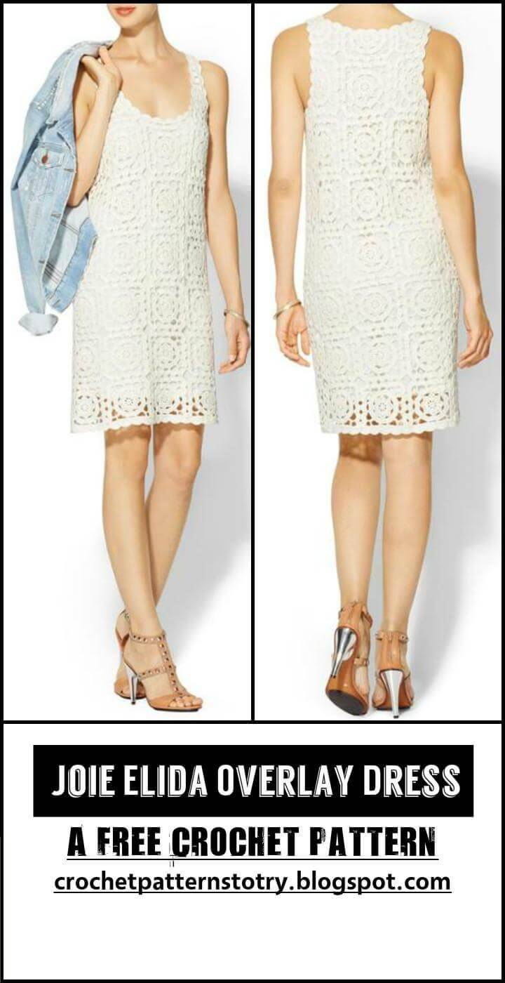 Crochet Joie Elida Overlay Dress