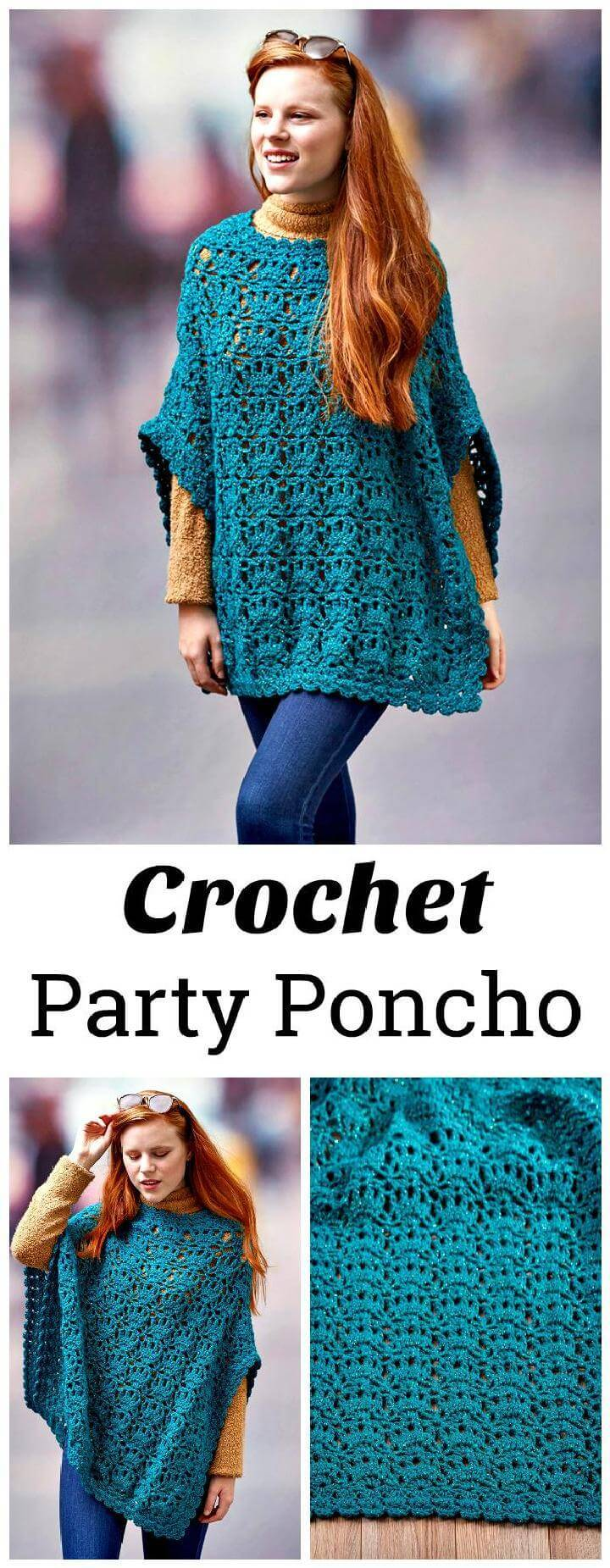 Crochet Party Poncho