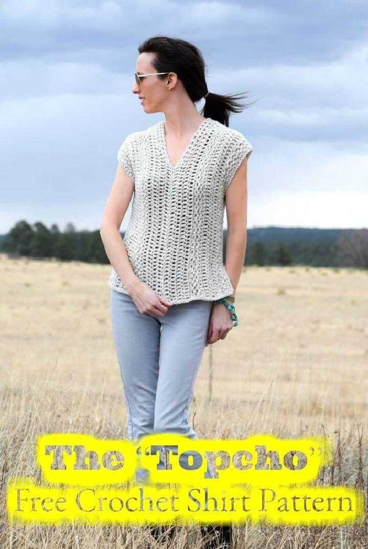 Crochet Topcho Free Pattern