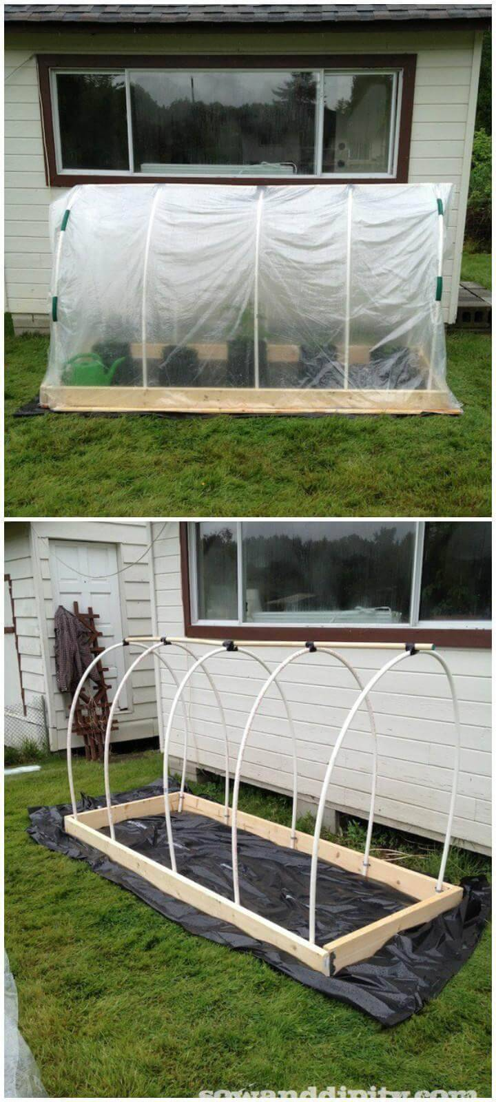 DIY 50$ Greenhouse