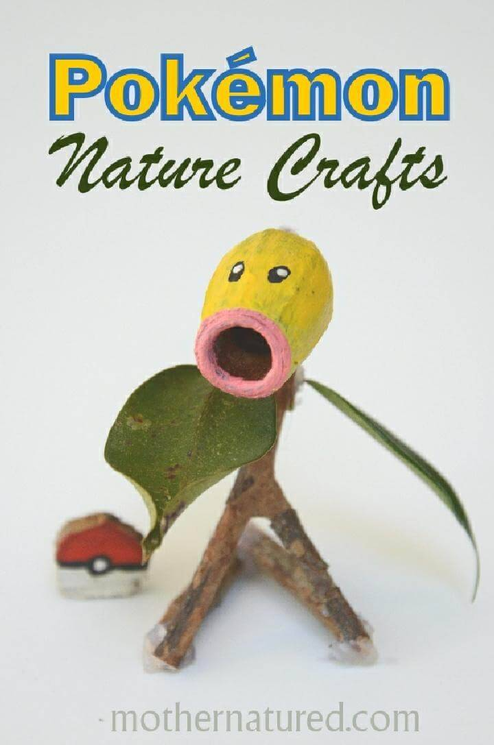 DIY Amazing Bellsprout Pokemon Craft
