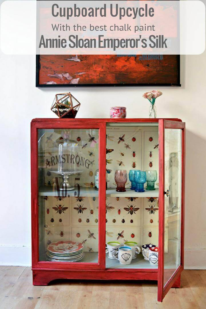 DIY Amazing Chalk Paint Cupboard Makeover