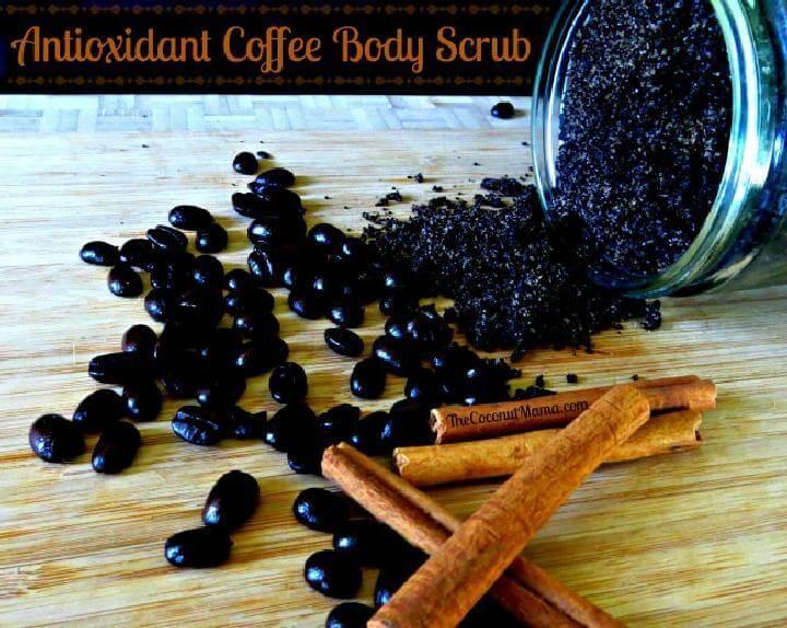 DIY Antioxidant Coffee Body Scrub