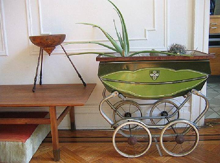 DIY Beautiful Pram Planter
