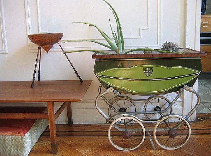 DIY Beautiful Pram Planter