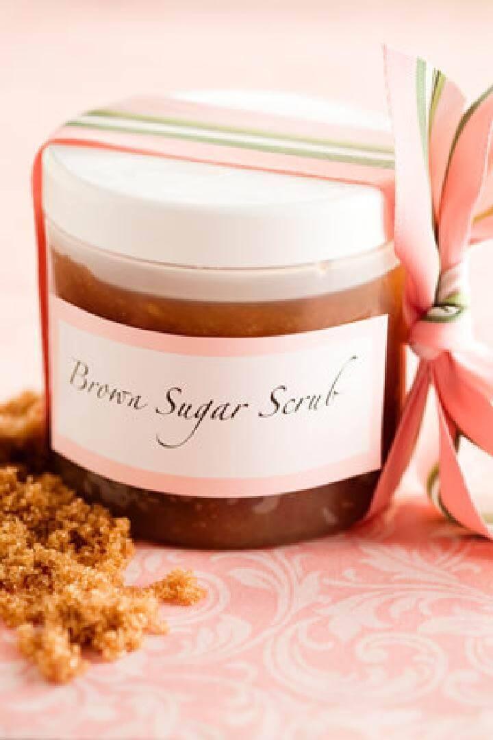 DIY Brown Sugar Scrub