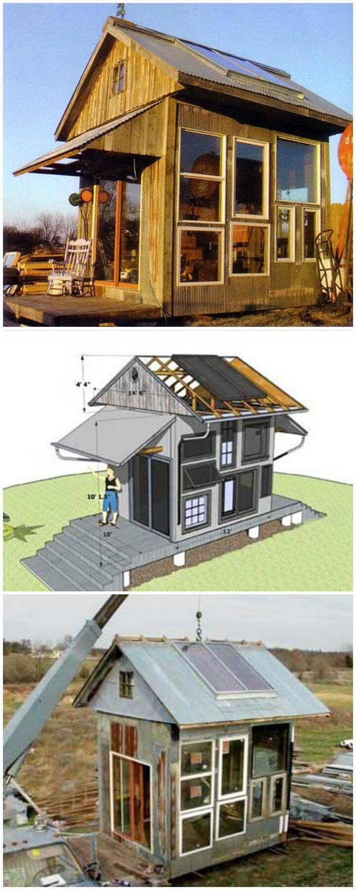 DIY Budget-Friendly Multipurpose, Solar-heated Greenhouse/Guest House