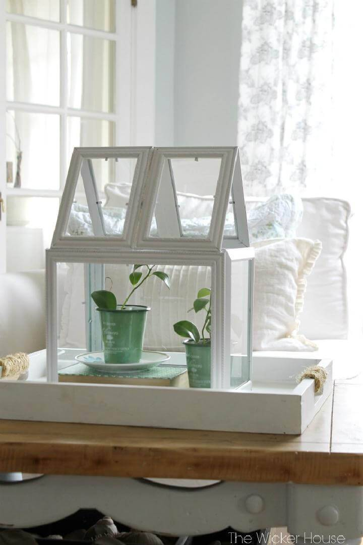 DIY Creative Picture Frames Greenhouse Terrarium