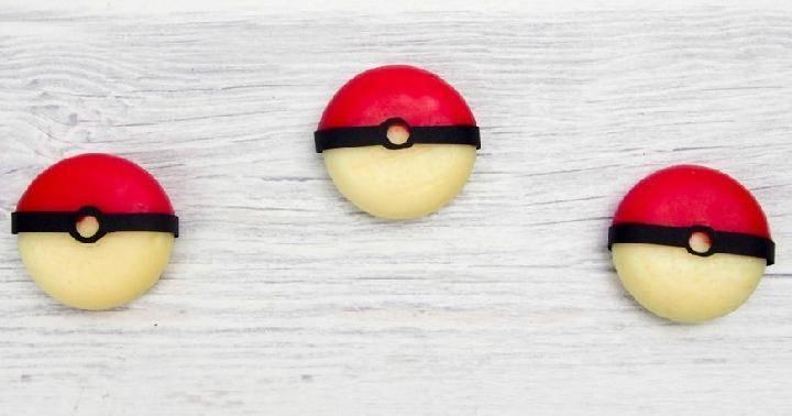 DIY Easy Edible Pokemon Balls