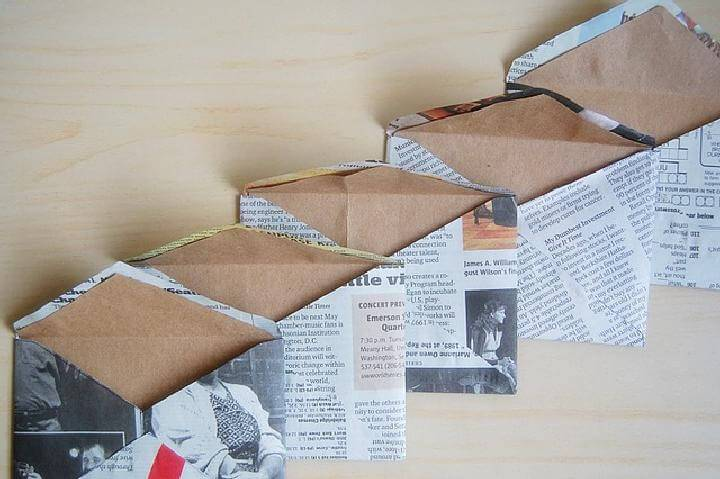 Easy Newspaper Envelopes