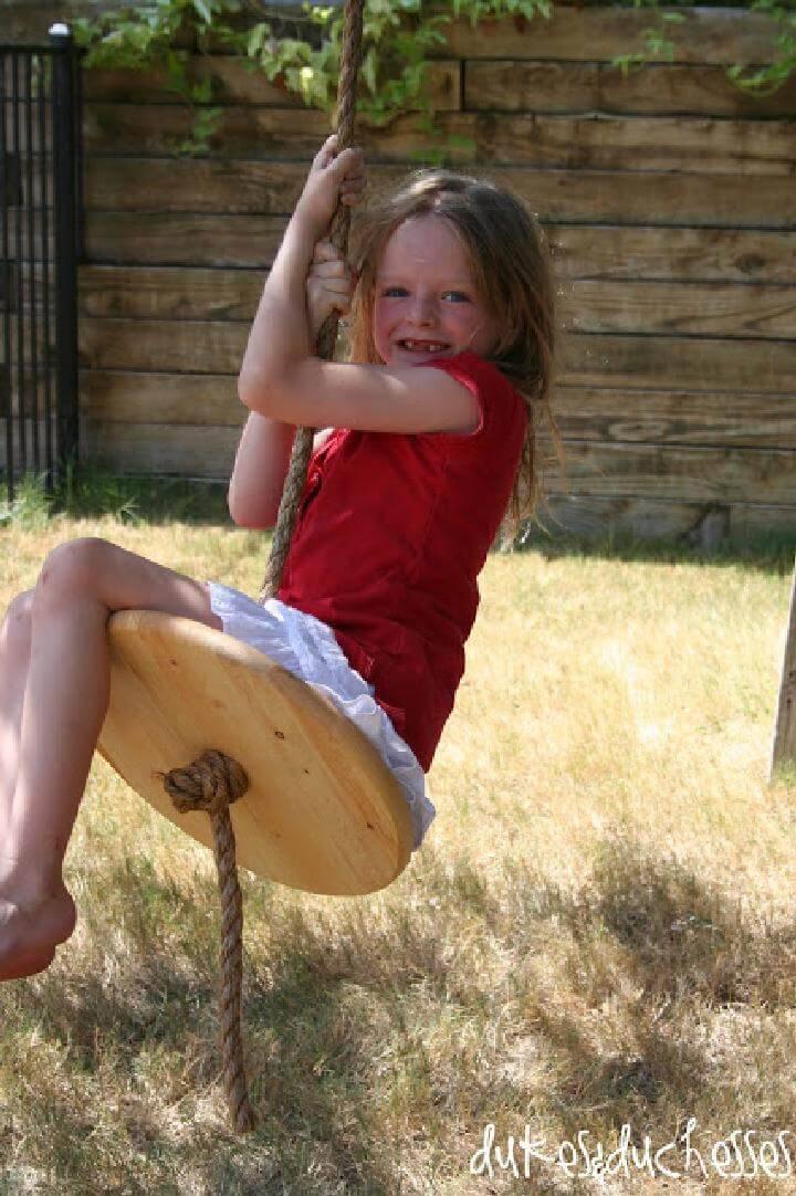 DIY Easy-to-Make Rope Swing