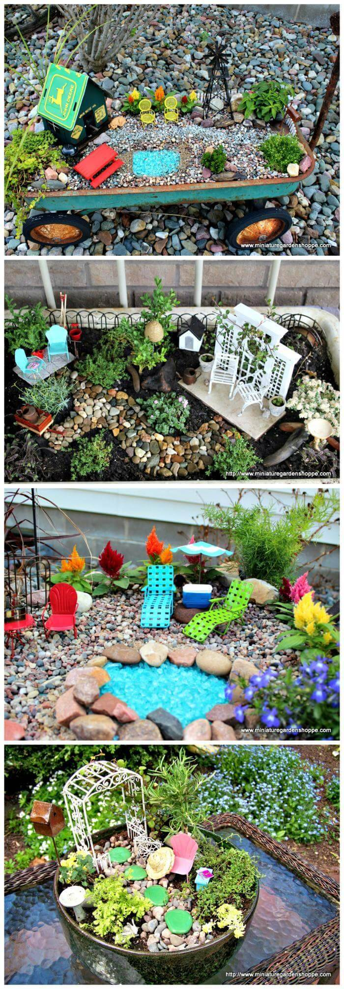 60 Best DIY Fairy Garden Ideas / Fairy Garden Houses - DIY & Crafts