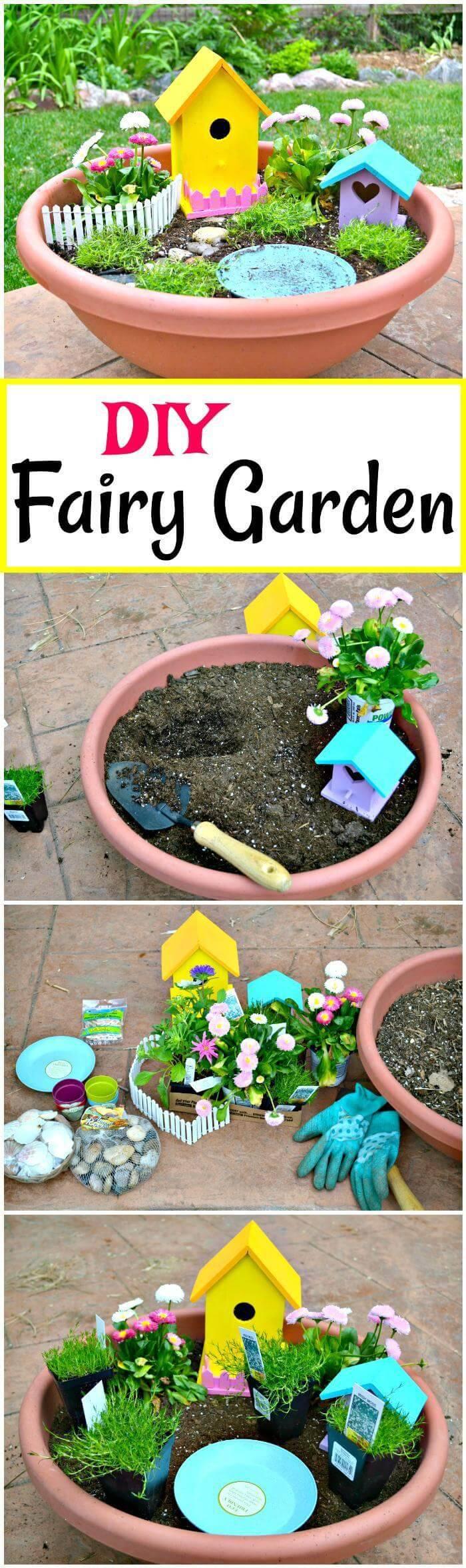 DIY Fairy Garden tutorial