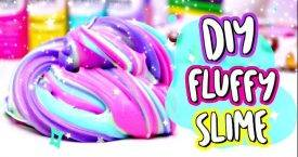 DIY Fluffy Slime! How To Make The BEST DIY Slime