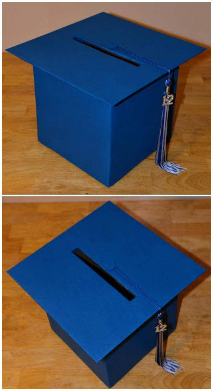 DIY Graduation Card Box