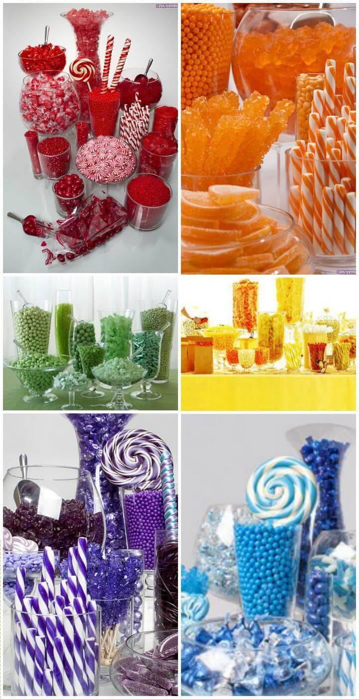 DIY Graduation Party Candy Bar Ideas