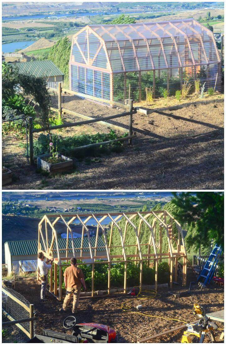 DIY Greenhouse Cost Plan and Construction Tutorial
