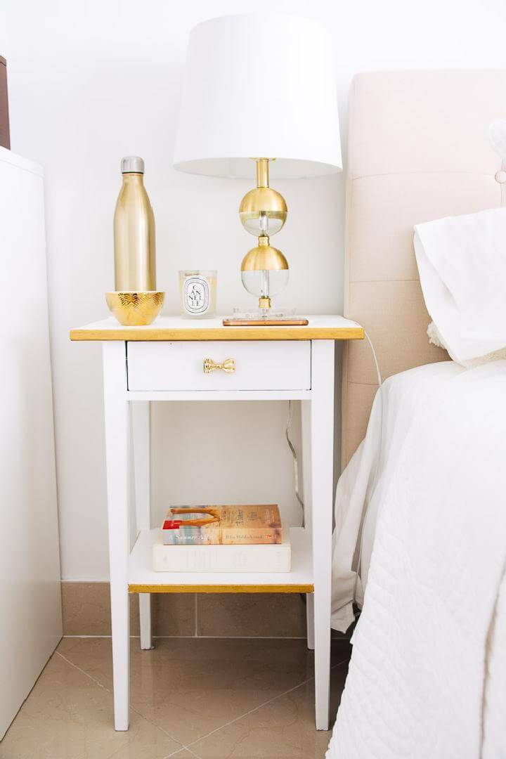 DIY IKEA Hack Hemnes Nightstand