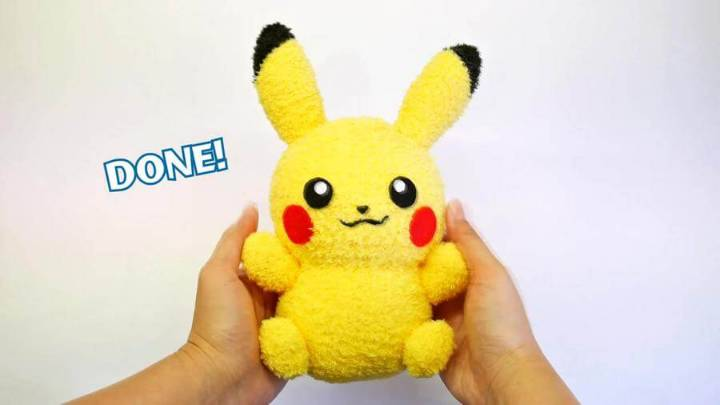 DIY Pikachu Sock Plushie with Free Pattern