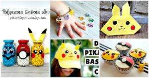 40+ DIY Pokemon Crafts Your Kids Will Love