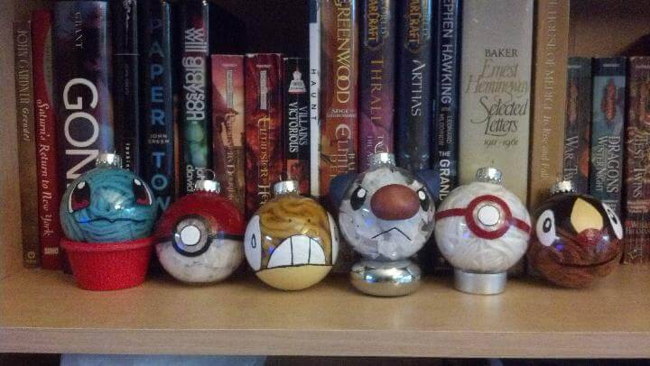 DIY Pokemon Festival Baubles