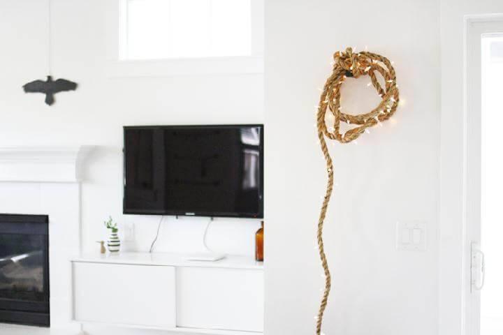 DIY Rope Light Strand