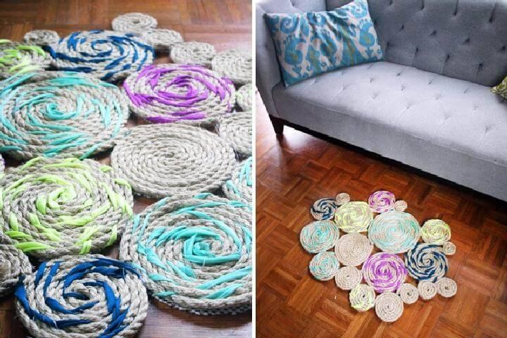 Easy DIY Rope Rug