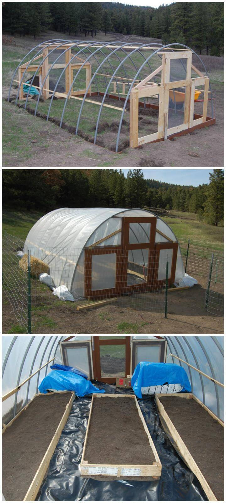 DIY Self-Made Greenhouse
