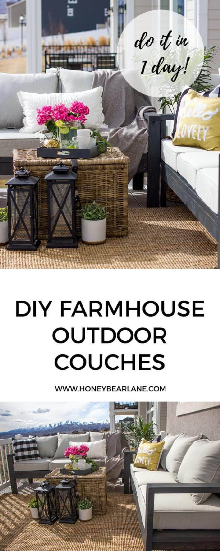 DIY Self-Made Outdoor Furniture