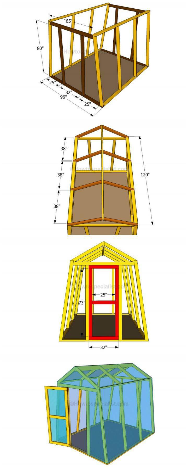 DIY Small Greenhouse Plans Step-by-Step