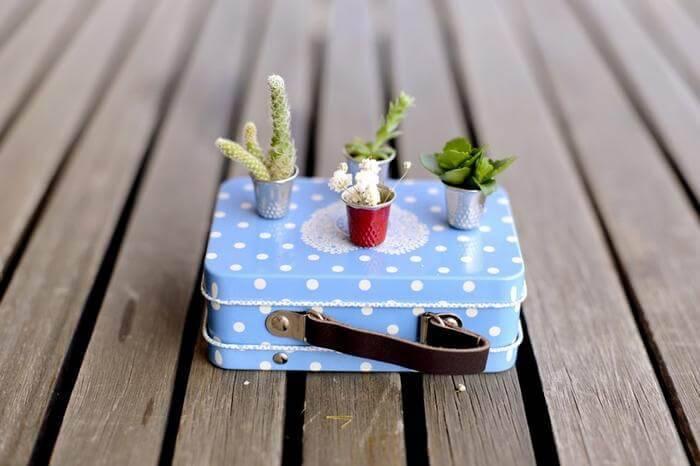DIY Thimble Plants for Fairy Garden