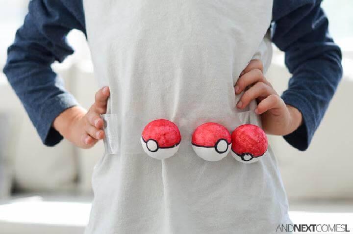 DIY Timeless Pokemon Trainer Belts