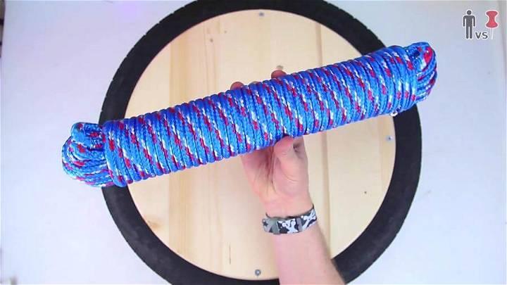 Textured Rope Strand