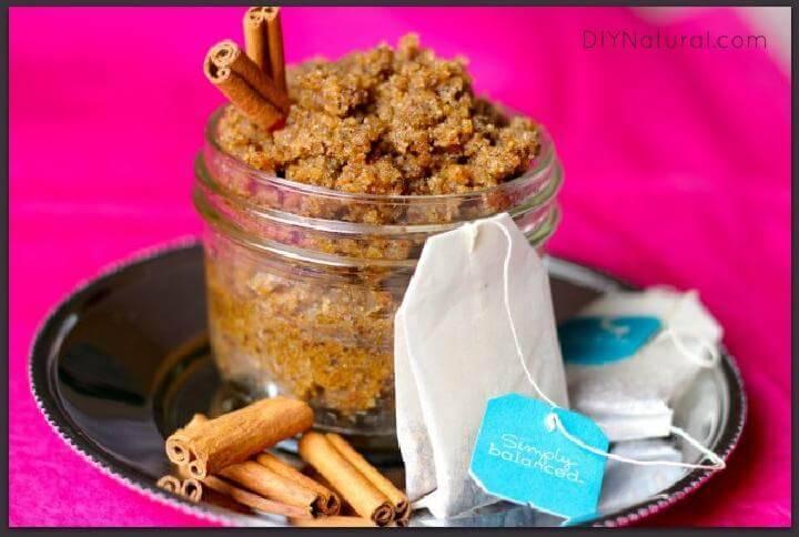DIY Vanilla Chai Sugar Scrub